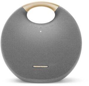 Harman Kardon Onyx Studio 6 Bluetooth Lautsprecher grau wasserfest Streaming