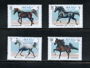 C615  Qatar  1997  Arabian horses   4v.       MNH