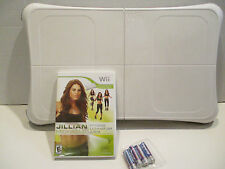 Wii Fit Balance Board with Jillian Michaels game and 4 'AA' batteries!!