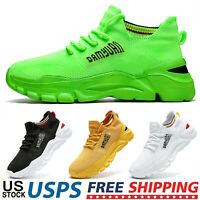 Men's Athletic Tennis Sneakers Fashion Outdoor Sports Running Jogging Shoes Gym