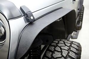 Rampage For 07-18 Jeep Wrangler JK JKU Trail Fender Flares Set of 4 Steel 867981