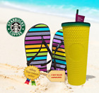STUDDED PINEAPPLE MatteYellow Tumbler 24oz Cup Double Wall Starbucks Hawaii