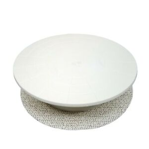 "Ateco Revolving Cake Stand Non-Slip Pad 12"" Diameter 610 Plastic"