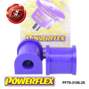 PF79-3106-25 Powerflex Black Series TVR Tamora Front Anti Roll Bar Bushes 25mm