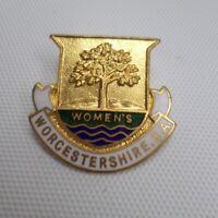 Worcestershire Women's Bowling Association Metal Enamel Pin Badge inc UK P+P