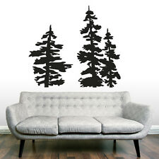 Vinyl Wall Decal Sticker Bedroom Forest tree branch foliage dorm interior r1538
