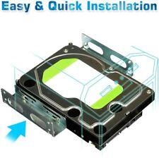 "3.5/"" to 2.5/"" SSD//Hard Drive Drive Bay Adapter Mounting Bracket Converter LK"
