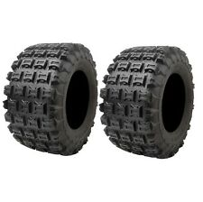 Tusk Voltage ATV Set Of 2 Rear Tires 20x11-9 Yamaha Honda Suzuki Kawasaki