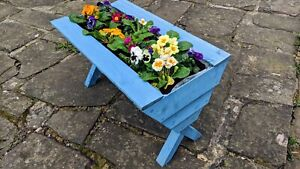 Garden Planter Bespoke with Lining Made from Treated Timber X Framed Brand New