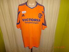 "FC Schalke 04 Adidas Ausweich Trikot 03/04 ""Victoria Versicherungen"" Gr.XL- XXL"