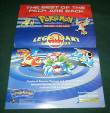 More details for pokemon ccg/tcg - legendary collection retailer promotional poster