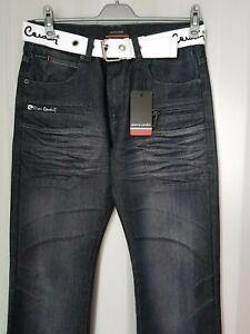 New Man Pierre Cardin Black Jeans Size: 32R/34R