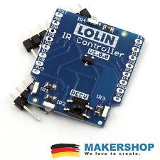Lolin Wemos D1 Mini IR Controller Shield Infrarot Sender Empfänger Erweiterung