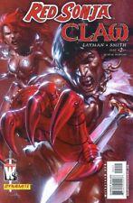 Red Sonja vs. Claw # 2 Gabriele Dell 'Otto-cover Dynamite dc Wild Storm Conan