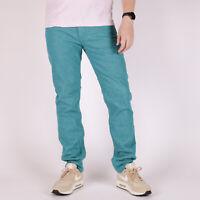 Levi's 511 Slim Fit Premium Teal Electric Grun Herren Jeans 32/32