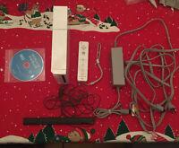 Nintendo Wii Console Bundle GameCube Compatible Wii Sports RVL-001