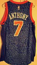 Adidas Swingman NBA Jersey Knicks Carmelo Anthony Blue Fashion sz 2X