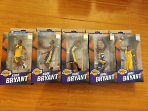 McFarlane NBA KOBE BRYANT Limited Championship Series Figures Black Mamba Lakers