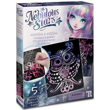 Nebulous Stars Scratch and Sketch Cards - Arts and Crafts for Children