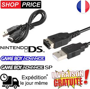 Câble chargeur USB pour Nintendo DS / GameBoy Advance GBA / GameBoy Advance SP