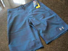 NWT - Boys UNDER ARMOUR Blue Unlined Board Shorts UPF50 (Size 20)