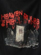 HEAVEN AND HELL UK tour 2007 t.shirt-Dio,Black Sabbath-unworn L