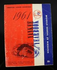 1961 Team Signed Yankee Yearbook Mantle Maris Autographed