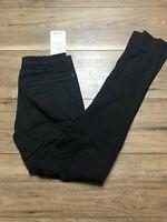 "NWT Lululemon Mens Commission Pant Classic Size 28 x 34"" L Black Golf Athletic"