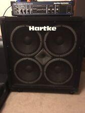 Hartke half stack amp