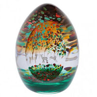 Caithness Glass Woodland Seasons Autumn Paperweight