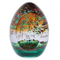Caithness Glass Woodland Seasons Autumn Paperweight