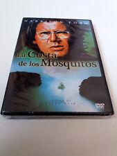"""DVD """"LA COSTA DE LOS MOSQUITOS"""" PRECINTADO SEALED PETER WEIR HARRISON FORD RIVER"""