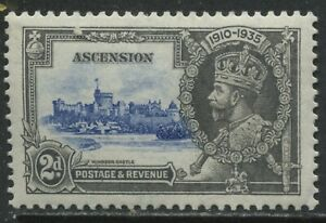 Ascension 1935 KGV 2d Silver Jubilee mint o.g. hinged