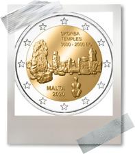 2 EURO *** Malta 2020 Malte  *** Tempel Skorba Temple !!!