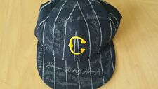 Signed Negro League Legends of baseball hat w/coa