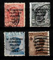 1922-Trieste-Congresso Filatelico -sass S 22 -  5