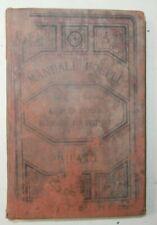 Rarissimo libro Manuali Hoepli Come il sole dipinge Manuale di fotografia 1887