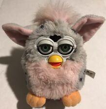 Furby Gray Black Spots w/ Pink Belly Model 70-800 1998