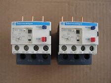 2 x TELEMECANIQUE LRD05 thermal overload relay