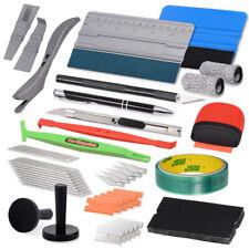 Pro Car Window Tint Tool Kits For Auto Vinyl Film Tint Soft Scraper Car Wrapping