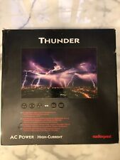 AudioQuest NRG Thunder High-Current 15-Amp AC Power Cable-1 Meter-Excellent Cond