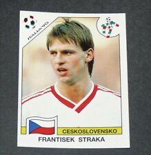 N°82 STRAKA CESKOSLOVENSKO CSSR PANINI COUPE MONDE FOOTBALL ITALIA 90 1990 WC WM