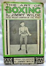 The Art of Boxing by Jimmy Wilde...Vintage 1947 Edition