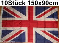 10x GB FLAGGE GROßBRITANNIEN Brexit EM FLAG FAHNE UK UNITED KINGDOM UNION JACK