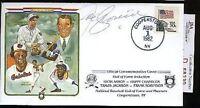 Joe Cronin Perez Steele Jsa Certed Signed 1982 Fdc Autograph Authentic