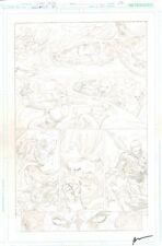 Brightest Day #20 p.17 Mera vs. Siren! Aquaman, Aqualad, & Aquagirl by Ivan Reis Comic Art