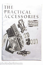 Rollei flex cord Practical Accessories Sales Brochure - English - Used B14