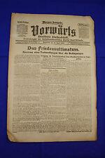 VORWÄRTS (19. April 1919): Das Friedensultimatum