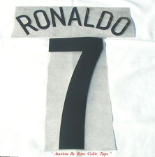 Champions League Manchester United Black ' Ronaldo 7 ' Player Issue Shirt Set
