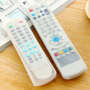 2 Pieces Silicone Etui Coque Télécommande TV Boîte Rangement Housse Protection*,